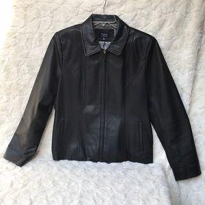 EUC. Sonoma Black Lambskin Jacket SzXL